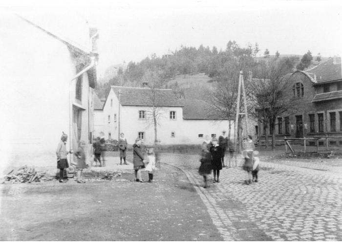 Um 1927 Blick auf das Vereinshaus